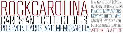RockCarolina Cards and Collectibles
