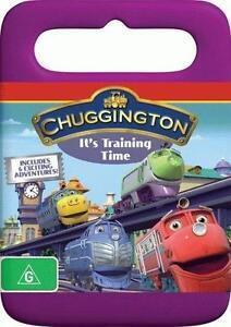 Chuggington - It's Training Time (DVD, 2010) New & Sealed