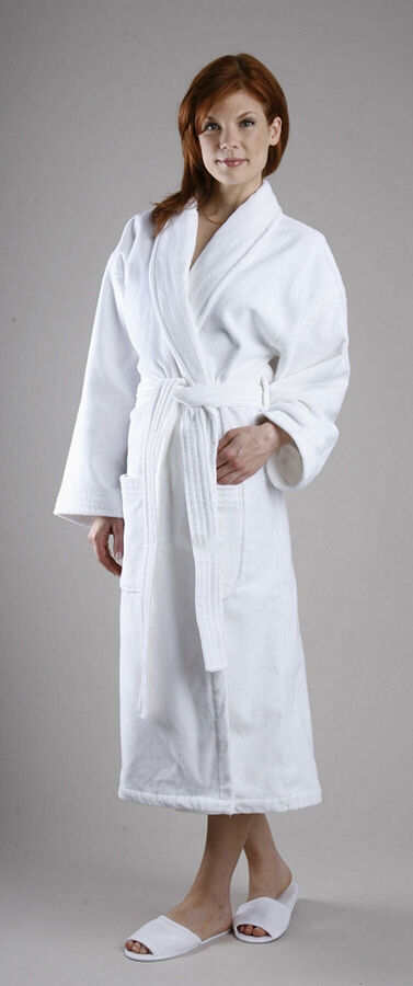 the terry bath spa line is a staple name in luxurious spa products the bamboo terry cloth robe is made of a mixture of bamboo viscose and cotton - Terry Cloth Robe