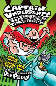 Pilkey, Dav-Captain Underpants And The Terrifying Return Of Tippy Tinkl BOOK NEW