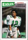 Randall Cunningham Single Football Trading Cards