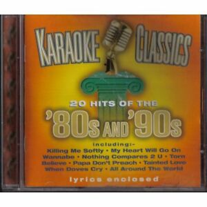 Karaoke-Classics-80s-And-90s-CD-Audio-CD-Karaoke