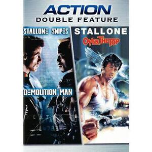 Demolition-Man-Over-the-Top-DVD-2006-BRAND-NEW-SEALED-IN-SHRINKWRAP