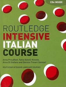 Routledge Intensive Italian Course, Anna Proudfoot