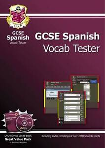 GCSE Spanish Interactive Vocab Tester - DVD-ROM and Vocab Book (A*-G Course) by