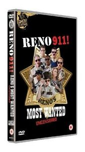 Reno 911 - Most Wanted :Uncensored (DVD, 2011, 2-Disc Set) New and Sealed