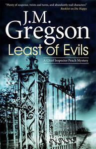 Least of Evils (Detective Inspector Peach Mysteries)-ExLibrary