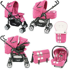 Babystyle Ts Travel System Domino Pink
