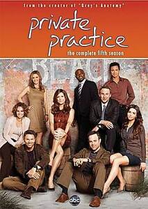 Private Practice: The Complete Fifth Season (Dvd, 2012)