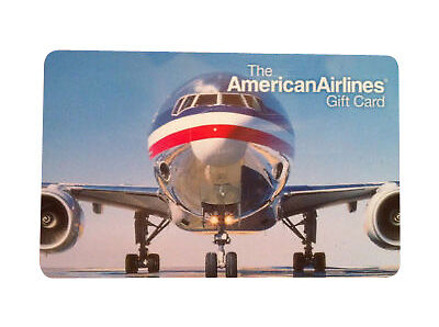 200 American Airlines Gift Card - Must Use By 09/30/19 - $185.00
