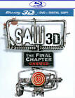Saw: The Final Chapter (Blu-ray/DVD, 2011, 2-Disc Set, 3D) (Blu-ray/DVD, 2011)