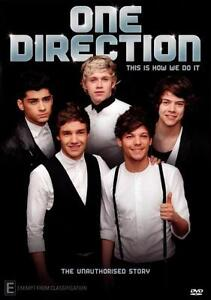 One Direction - This Is How We Do It (DVD, 2012)-REGION 4-Brand new-Free postage