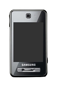 Samsung-SGH-F480i-Ice-silver-Mobile-Phone-on-three-network-but-maybe-unlocked