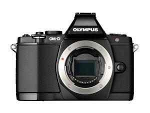 Olympus-OM-D-Omd-E-M5-16-1-Mp-MacChina-Fotografica-Digitale-Nero-Solo