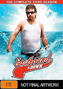 Eastbound And Down : Season 3 (DVD, 2012, 2-Disc Set)  New, ExRetail Stock, D76
