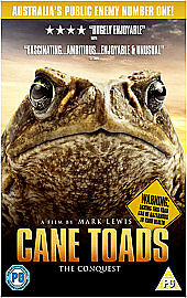 Cane Toads  The Conquest 3D 3D Bluray 2012 Brand New Sealed - <span itemprop='availableAtOrFrom'>High Wycombe, United Kingdom</span> - Cane Toads  The Conquest 3D 3D Bluray 2012 Brand New Sealed - High Wycombe, United Kingdom