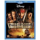 Pirates of the Caribbean: The Curse of the Black Pearl (Blu-Ray/DVD, 2003, 3-Disc Set)