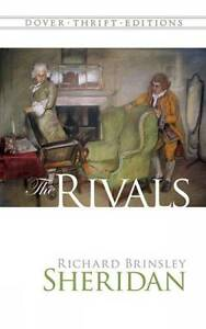 The Rivals by Richard Brinsley Sheridan BRAND NEW BOOK (Paperback, 2000)