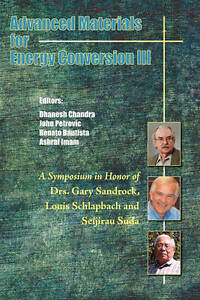 Advanced Materials for Energy Conversion III, Dhanesh Chandra
