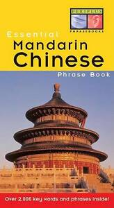 ESSENTIAL-MANDARIN-CHINESE-Phrase-Book-New-Paperback-Free-Shipping-Language-Guid