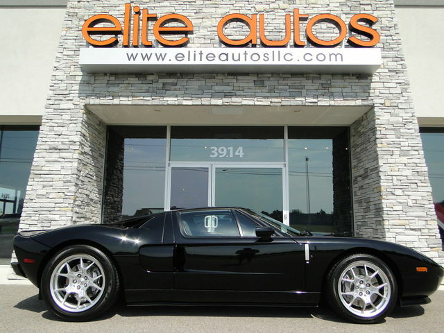 Ford : Ford GT 40 gt40 2 k miles black rare stripe delete bbs wheels mcintosh stereo grey calipers