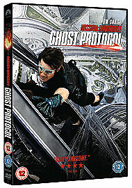 Mission Impossible  Ghost Protocol DVD 2012 - March, United Kingdom - Mission Impossible  Ghost Protocol DVD 2012 - March, United Kingdom