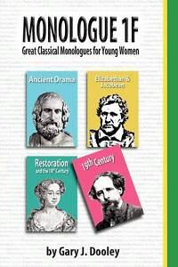 Monologue 1F, Dooley, Gary J., New Book