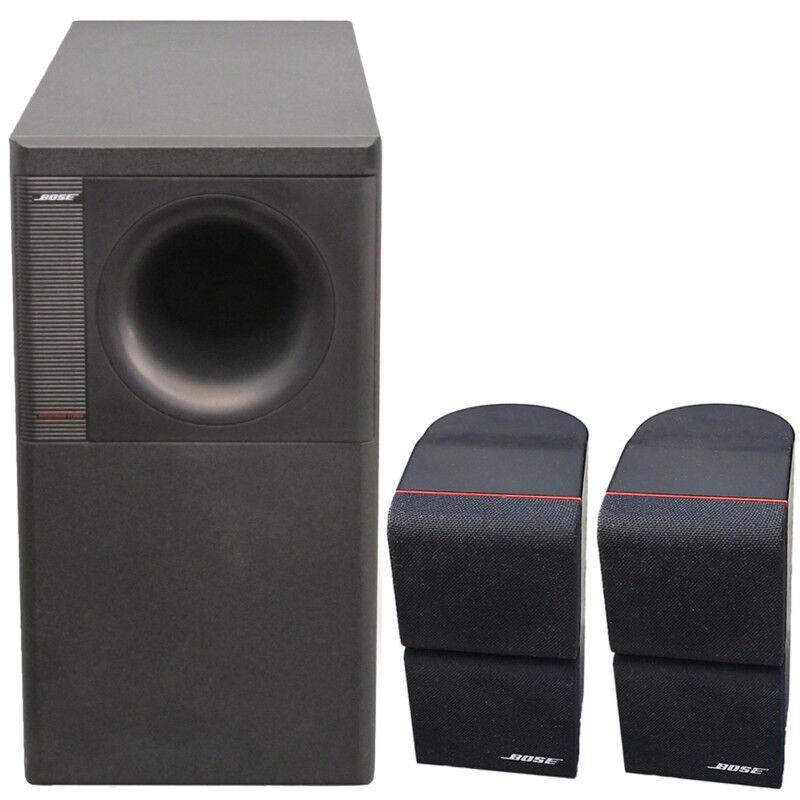 ebay bose acoustimass 5 series ii lautsprecher system. Black Bedroom Furniture Sets. Home Design Ideas