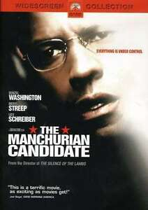 The-Manchurian-Candidate-DVD-2004-Widescreen-Denzel-Washington-Meryl-Streep