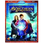 The Sorcerer's Apprentice (Blu-ray/DVD, 2010, 3-Disc Set, Includes Digital Copy)