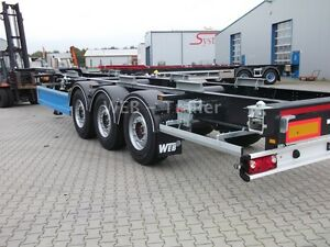 Web-Trailer COS-27 Gooseneck 20ft /40ft