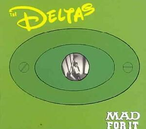DELTAS-Mad-For-It-CD-4-bonus-tracks-British-Psychobilly-Rockabilly-NEW