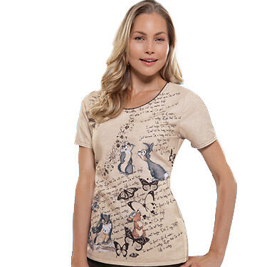 Animal Kingdom Round Neck Top