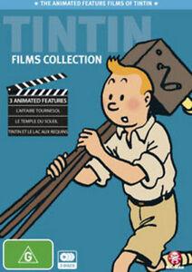 Tintin Movies Collection (DVD, 2010, 3-Disc Set) New Region 4