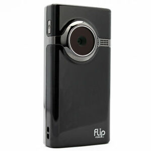 Flip Video MinoHD F460 4 GB Camcorder - Black