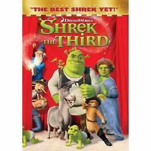 Shrek the Third (DVD, 2007, Widescreen V...