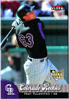 Rookie Fleer Troy Tulowitzki Baseball Cards