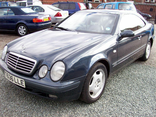 1999 mercedes benz clk 320 coupe 3199cc petrol ebay. Black Bedroom Furniture Sets. Home Design Ideas