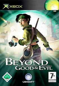 XBOX Spiel Beyond Good & Evil mit Anleitung guter Zustand, Cover überklebt + OVP