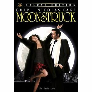 Moonstruck (DVD] Deluxe Edition, Dolby, Dubbed, Subtitled, Widescreen Cher NEW