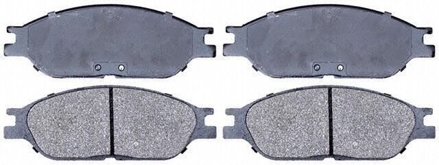 Raybestos SGD803M Front Semi Metallic Brake Pads