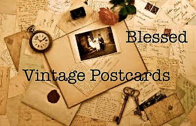Blessed Vintage Postcards