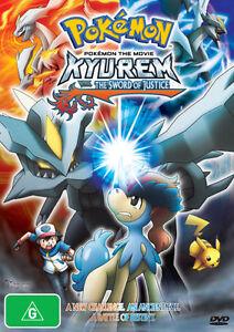 Pokemon The Movie - Kyurem Vs. The Sword Of Justice (DVD) New/Sealed!