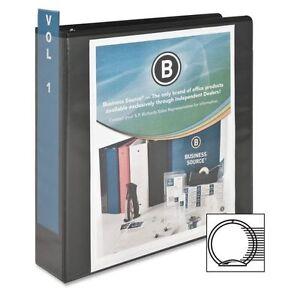 "Business Source Bsn-09956 Round Ring View Binder - 2"" Capaci"