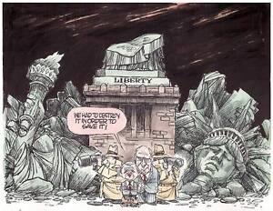 Ambushed!: A Cartoon History of the George W. Bush Administration,Jim Morin, Wal