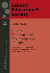 Japan's Transnational Environmental Policies, Ruediger Kuehr