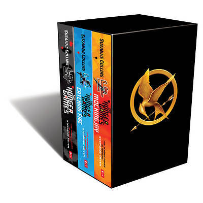 The Hunger Games Trilogy Box Set,Suzanne Collins,New Condition