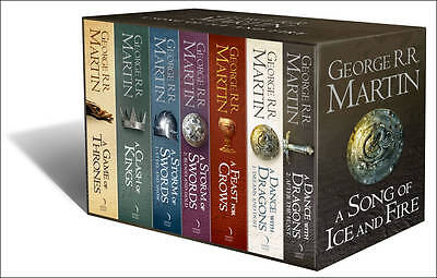 George R R Martin A Song of Ice and Fire 7 Books Collection Pack Boxed Set New