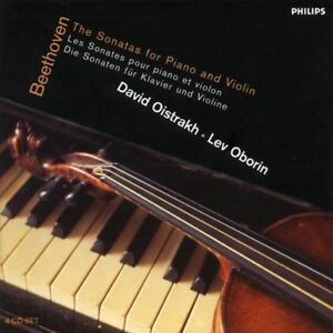 Ludwig van Beethoven - The Sonatas for Piano & Violin,  Box Set (2001)