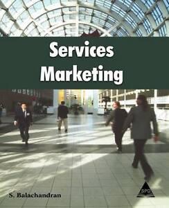NEW Services Marketing by S. Balachandran